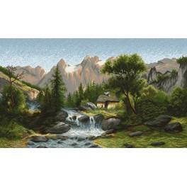 V údolí - Předtištěná kanava