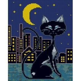 Kočka - Předtištěná kanava