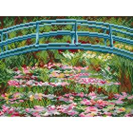 C. Monet - Lekníny - Předtištěná kanava