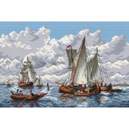 Plachetnice - Předtištěná kanava