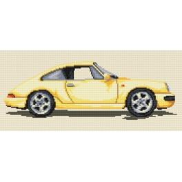 K 4299 Porsche - Předtištěná kanava