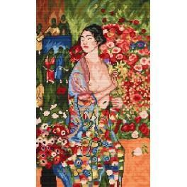 G. Klimt - Tanečnice - Předtištěná kanava
