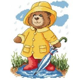K 4879 Letní déšť - Předtištěná kanava