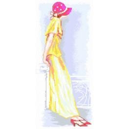 Woman in a Hat - Předtištěná kanava