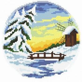 Čtyři roční období - zimní - Předtištěná kanava