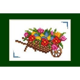 Předloha online - Velikonoční karta - Velikonoce