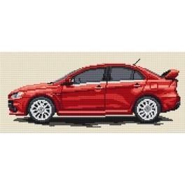 W 4178 Předloha online - Mitsubishi Lancer