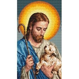 Předloha online - Ježíš s beránkem