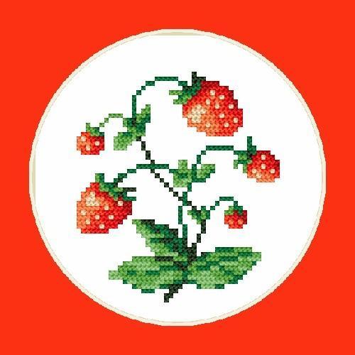 W 4407 Předloha ONLINE pdf - Sladké jahody