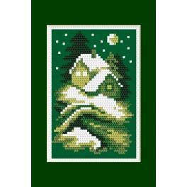 Předloha online - Vánoční přání- Tichá noc - B. Sikora