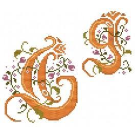 Předloha online - Monogram G - B. Sikora-Malyjurek