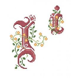 Předloha online - Monogram I - B. Sikora-Malyjurek