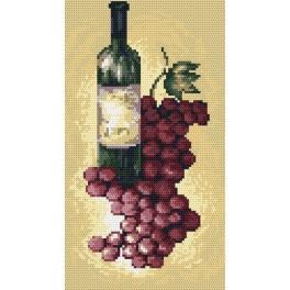 Předloha online - Červené víno - B. Sikora-Malyjurek