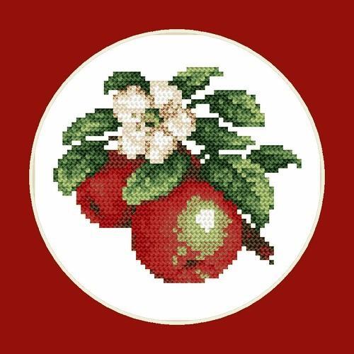 W 4686 Předloha online - Šťavnaté jablka - B. Sikora-Malyjurek
