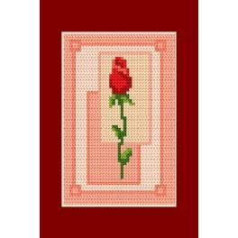 Předloha online - Valentýnky- Růže