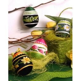 Předloha online - Velikonoční kraslice - B. Sikora-Malyjurek