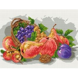 Předloha online - Podzimní ovoce