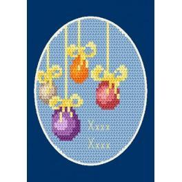 Předloha online - Velikonoční karta