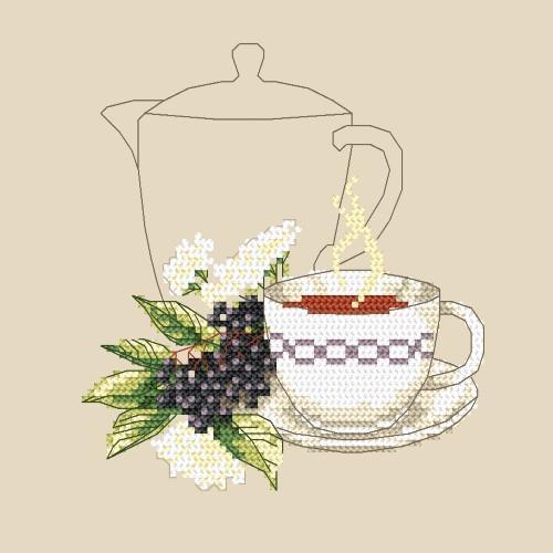 W 4940 Předloha online - Bezinkový čaj