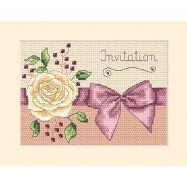 Předloha online - Pozvánka - Růže