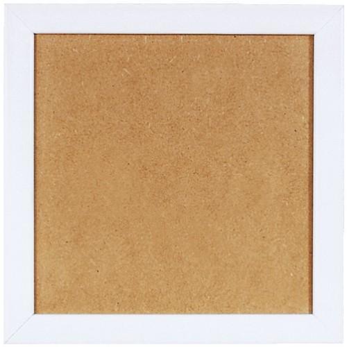 S 157005-21x21 Dřevěný rámeček - barva bílá (21x21cm)