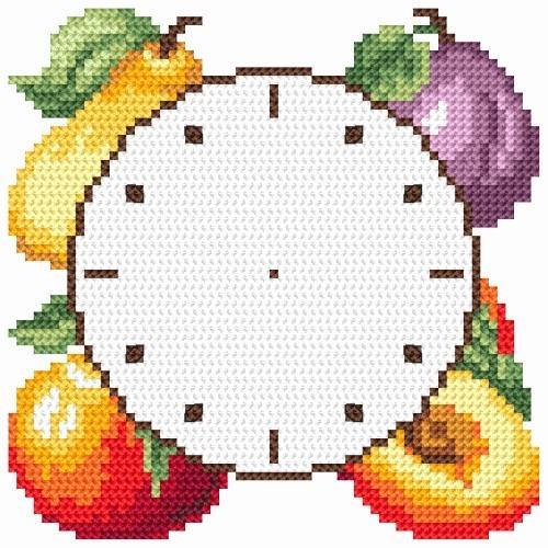 W 8661-01 Předloha ONLINE pdf - Hodiny s ovocem