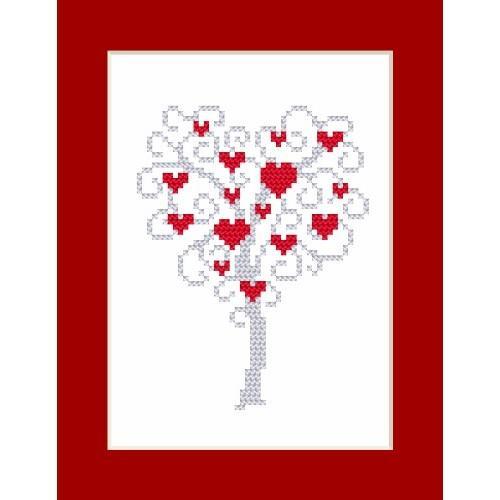 W 8668 Předloha ONLINE pdf - Karta - Strom srdcí