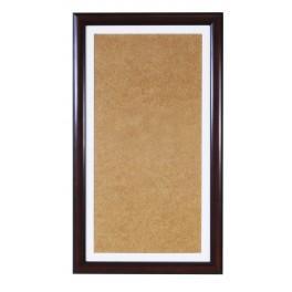 Dřevěný rámeček - barva oříšková - bile psp (22,4x40,8cm)