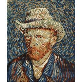 Autoportrét - V. van Gogh - Předloha