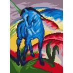 GC 33022 Modrý kůň - F. Marc - Předloha
