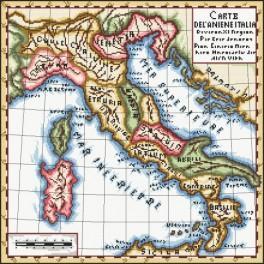Stará mapa - Předloha