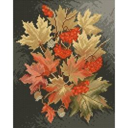 GC 4017 Podzimní listy - Předloha