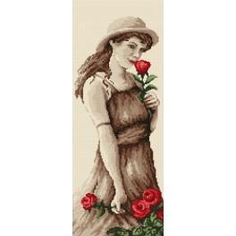 GC 4611 Dívka s růží - Předloha