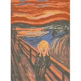 GC 476 Edvard Munch - Křik - Předloha
