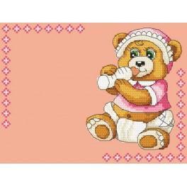 GC 4936-01 Předloha - Narození dítěte - holčička