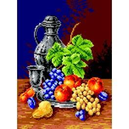 Kalich a ovoce - Předloha