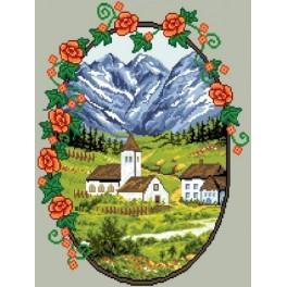 GC 6085 Horská vesnice - Předloha
