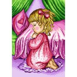 GC 7063 Modlící se holčička - Předloha