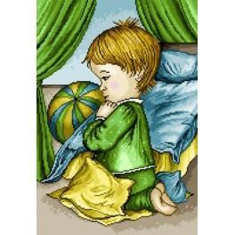 GC 7064 Modlící se chlapec - Předloha