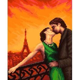 GC 7093 Paříž - Zamilovaní - Předloha