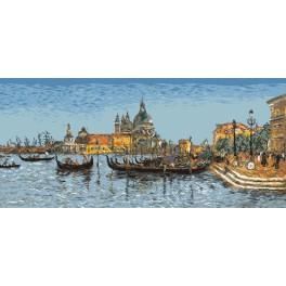 E. Boudin - Benátky - Předloha