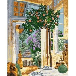 J. Mehoffer - Květnové slunce - Předloha