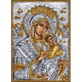Ikona - Matka Boží s Děťátkem - Předloha