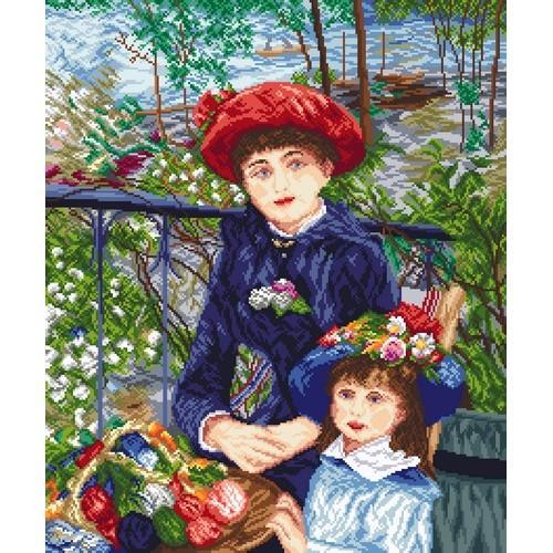 GC 8038 Dvě sestry - Pierre August Renoir - Předloha