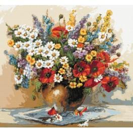 Kytice divokých květin - Předloha