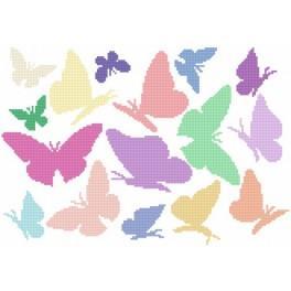 GC 8519 Duhoví motýlci - Předloha
