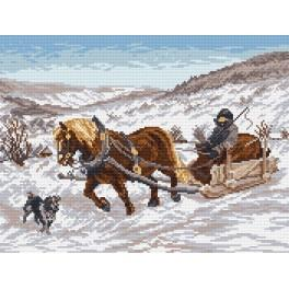 V zimě - Předloha