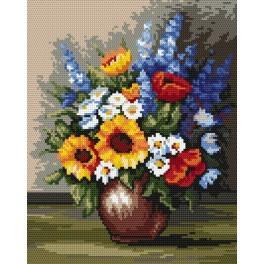 Polní květy - B. Sikora-Malyjurek - Předtištěná kanava