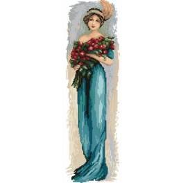 GC 4545 Žena s květinami - Předloha