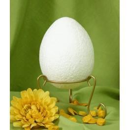 Polystyrenové vejce 12cm a stojan